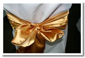 Luxury Gold Bow