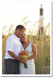 Tybee Island Wedding Photo
